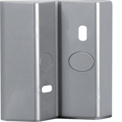 EE857 Corner bracket for motion detector comfort silver EE852/862/872
