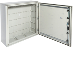 FL306B Polyester wall mounting enclosure,  Orion.Plus,  plain door 850x850x300 mm