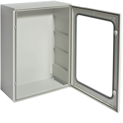 FL279B Polyester enclosure,  Orion.Plus,  glazed door 800x600x300 mm