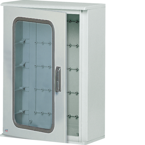 FL305B Polyester wall mounting enclosure,  Orion.Plus,  plain door 550x850x300 mm