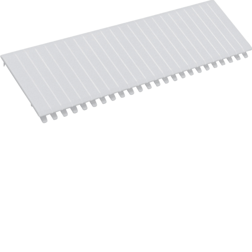 S35S Cover strips,  RAL 9010, breakable,  219 mm