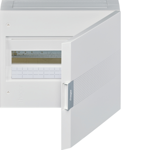 VB118J Small distributor,  vega,  surface, 1row, 18M,  IP40, QC-terminal,  PE,  white door